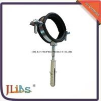 Quality Pipe Support Clamps Cast Iron Pipe Clamps Round Pipe Brackets wholesale