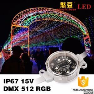 Quality IP67 Outdoor 40mm 50mm SMD3535 Waterproof DMX Digital RGB Led Pixel wholesale