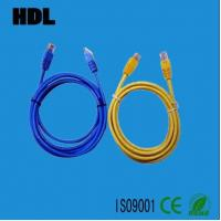 network cat5e cat6 patch cord cable with RJ45 plug