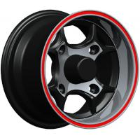 High Performance 12 Inch Alloy Wheels , Red Lip kin-1025