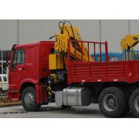 Buy cheap Durable XCMG Knuckle Boom Truck Mounted Crane , Cargo Crane Truck from wholesalers
