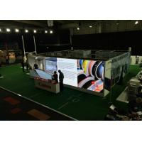 Best Stage HD Rent Led Advertising Screen Foldable , Led Curtain Video Wall High Refresh Rate wholesale
