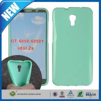 Quality Dustproof Soft Plastic Skin Candy Cover FOR Alcatel One Touch Idol 2S OT-6050Y wholesale