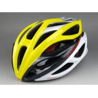 Yellow Downhill Mountain Biking Helmets Safe 20 airflow vent holes
