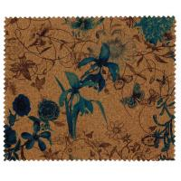 Promotional Nature Cork Fabric/Leather for bag and shoes making with PU backing,waterproof and dust resistance