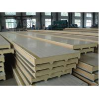 Quality BEIPENG SHOUHAO® polyurethane sandwich insulation board with metal exterior panels wholesale