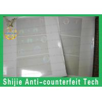 good quality  wholesale price holographic overlay Safety shipping rounded rectangles