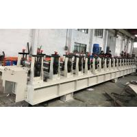 Best 11KW 0.8-1.5mm Galvanized Steel Guide Rail Roll Forming Machine 22 Stations wholesale