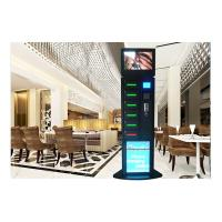 Best Hotel Free Charge Advertising Cell Phone Charging Vending Station With LEDs wholesale