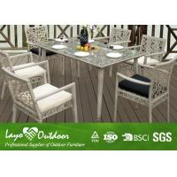 Rectangle Rattan Table Garden And Patio Furniture Dining Sets Customised Size