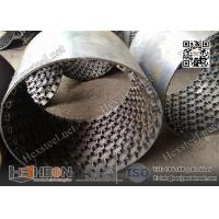 "Stainless Steel 410S grade 14gauge X 3/4"" depth Hexmesh with Bonding hole for refractory line"