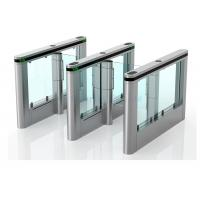 Quality Luxury High Speed Supermarket Swing Gate , Rfid Card Turnstile Security Systems wholesale