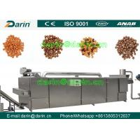 Quality Durable dog food machinery  , fish feed extruder machine Stainless Steel wholesale