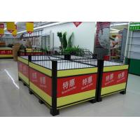 Quality Knockdown Metallic Supermarket Promotion  Display Table / Advertising Promotion Counter wholesale