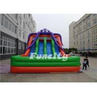 Best PVC Tarpaulin Inflatable Octopus Slide ,Inflatable Jumping Slide 10x6x6m  For Kids wholesale