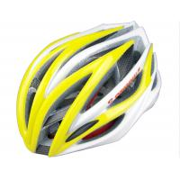 Best SV888 XL Sports Adult Bicycle Helmets Yellow With Carbon Reinforcement wholesale