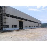 Q345 Pre Engineered Light Weight Metal Industrial Steel Buildings / Workshop