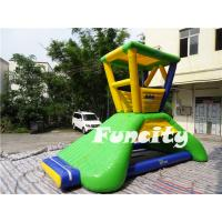 Best 6mLx5mWx4.2mH Inflatable Water Toys 0.9mm PVC Tarpaulin Water Lifeguard Tower wholesale