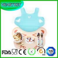 silicone bibs with crumb catcher,Clean Fast silicone baby bib