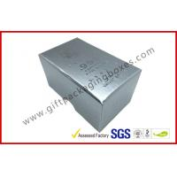 Quality Free sample Silver Hot Stamping promotion Gift Boxes for memorabilia wholesale