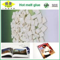 Quality EVA White Hot Melt Glue Pellets  Small Density And High Flexibility For Book And Magazine Printing wholesale