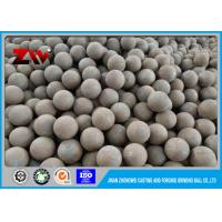 HRC 60-68 grinding steel balls for mine , forging and casting technology