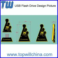 Custom Thumb Drive for Your Unique USB PVC Product Company Brand