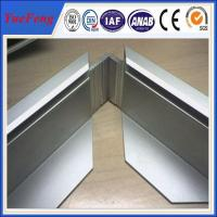 Best Sand blasting and anodising aluminum extrusion for solar frame 6063 alloy wholesale