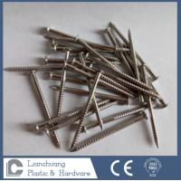 Quality SUS316  Stainless Steel Nails / Oval Head Nails Ring Shank for wood 1.95X35MM wholesale