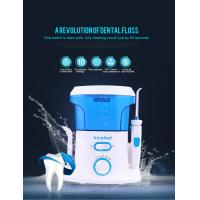 OEM Service Portable Personal Oral Water Irrigator Water Flosser Blue White Color