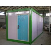 Quality Portable Shipping Prefab Container House With PVC Sliding Windows And Doors wholesale
