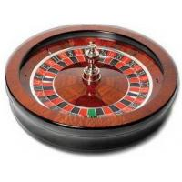 Solid Wood Roulette Wheel
