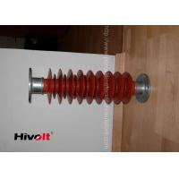 Red Color Polymer Post Insulator , 46kv Post Insulator For Switch Gear Parts