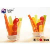 Best Ice Cream Disposable Dessert Plastic Containers 5 Oz For Party / Wedding wholesale