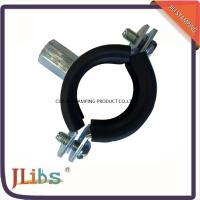 Best Welding type Cast Iron Pipe Clamps with EPDM Rubber Zinc Plated steel wholesale
