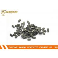 Buy cheap WoodCuttingTct Tungsten Carbide Saw Tips brazed on Saw Blades from wholesalers