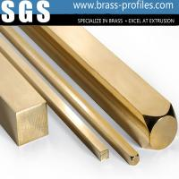 Quality Building Materials Brass Bar Sheet Brush Brass Rectangle Bar wholesale