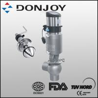 3A Certificated 1- 4 Inch Manual Divert Seat Valve with SS Pull Handle for Flow Control