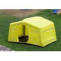 Best 0.9mm PVC Tarpaulin + Oxford Cloth Tourism / Advertising Inflatable Party Tent Yellow wholesale