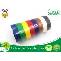 Best White /  Yellow / Red Crepe Paper Decorative Masking Tape With Rubber Based Gule wholesale