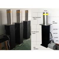 Best Fold Down Automatic Parking Posts Road Bollard With Led , Hydraulic Control wholesale