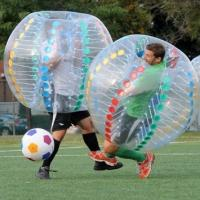 Quality Transparent Human Inflatable Soccer Ball Inflatable Sport Games Funny Bumper Ball wholesale