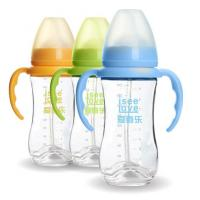 Quality 240ML Unbreakable Glass Baby Sipper Water Bottle Blue Pink Yellow Color Available wholesale