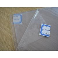 Quality Clear Silicone Rubber Sheet Rolls Food Grade Without Smell , Density 1.25-1.50g/cm³ wholesale