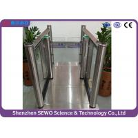 Cheap Security Fingerprint  Access Gate Speed Gates For Pedestrian Control Management for sale