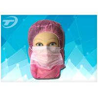 Quality Disposable astronaut cap with face mask  2ply / 3ply earloop , made of polypropylene fabric wholesale