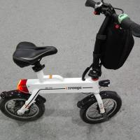 Best Green 12 Inch Foldable Electric Scooter , Mini Smart Bike 25 km / h wholesale