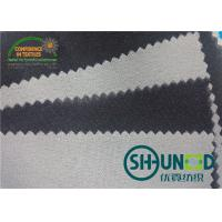 Low Melt Adhensive Woven Interlining Fusing 90℃ ~ 100 ℃  For Leather Fabrics Or Garments
