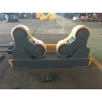 10 Ton Pipe Turning Rolls Drive By 1.5KW Motor Power With 300mm×120mm Rubber Wheels