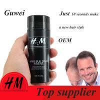 Guwee Number 1 anti hair loss product hair extension Refill hair fibers 9 color for choose